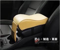 Leather <b>Car Armrest</b> Pad Universal <b>Auto</b> Armrests <b>Car Center Console</b>
