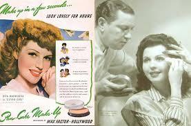 max factor pan cake makeup 1940s rita