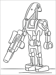 Clone Wars Coloring Clone Wars Coloring Pages Printable Star Wars