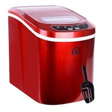 igloo ice102rb portable countertop ice maker red factory brown box