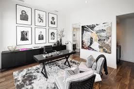 neutral office decor. Contemporary Masculine Office Neutral Decor O