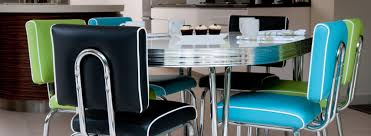 diner style table and chairs uk. retro diner furniture route 66 classic table with brooklyn stacking chairs style and uk