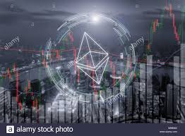 Ethereum Graph Chart Ethereum Trading Exchange Stock Market Investment Forex