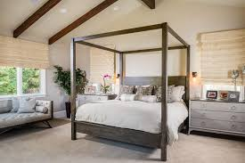 San Francisco Cool Beds For With Window Treatment Professionals Bedroom  Transitional And Exposed Ceiling Beams Grey
