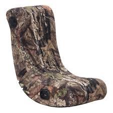 mossy oak camouflage x rocker v rocker 2 0 wired gaming chair 5165001