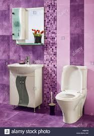 Badezimmer Fliesen Lila Drewkasunic Designs