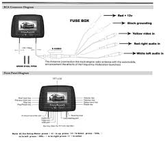 pyle pld72bk on the road headrest video Dvd Wiring Diagram diagram click here for a larger image overhead dvd player wiring diagram
