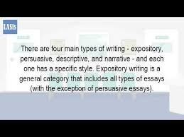 what are the types of writing  what are the types of writing