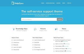 Support Website Template