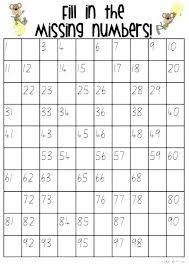 52 Valid Free Printable Number Chart 100 200