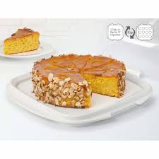 Sistema Klip It Cake And Cupcake Storer With Reversible Tray 88 L
