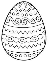 Coloring Pages For Kids Egg Easter Kids Coloring