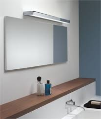 bathroom mirrors with lights above. Rectangular Bathroom Over Mirror Light In Four Lengths Up And Dazzling Above Lights Mirrors With