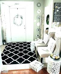 foyer rug apartment entryway ideas how to decorate an best decor average size rugs target runners