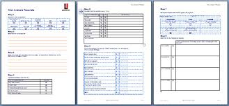 Risk Analysis Template in MS Word: Risk Management