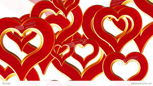 flying hearts wedding background valentines day red stock video fooe