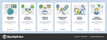 Office Banner Template Web Site Onboarding Screens Government Office Policy And