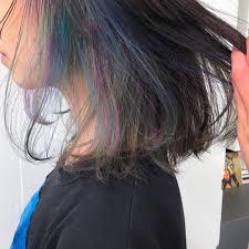個性が際立つ方法の一つヘアカラーメッシュ最近はレディースでも