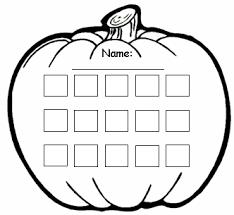 Halloween Sticker Charts Witch Bat And Pumpkin Templates
