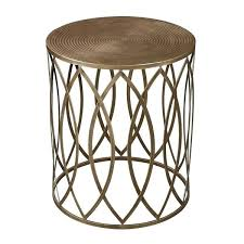 round gold end table fabulous metal accent table with beautiful round metal accent table industrial metal