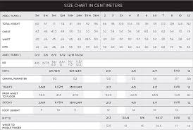 Canada Pants Size Chart Deux Par Deux Official Site Childrens Designer Clothing