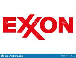 Exxon Logo Designer Logo Exxon Editorial Stock Image Illustration Of Exxon