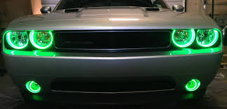 2014 Challenger Lights 2009 2014 Dodge Challenger Srt8 Headlight Halo Kits