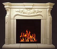 plaster fireplace mantel fp 084 pl estate collection