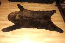 bear skin blanket cozy bear skin rugs bear skin rug faux with head