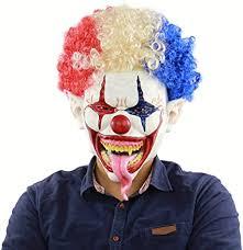 L'aduana club, la boite iconique de. Masque D Halloween Explosion Tete Grande Bouche Longue Langue Clown Latex Terroriste Couvre Chef Amazon Fr Cuisine Maison