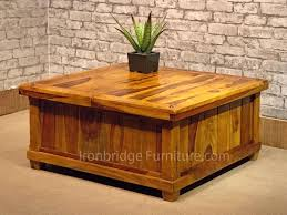 wooden chest coffee table furnitures storage trunk coffee table beautiful contemporary style solid sheesham sliding lid