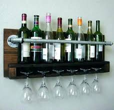 wall mounted glass rack wine glass holder shelf wine rack shelf wall mounted wine rack with wall mounted glass