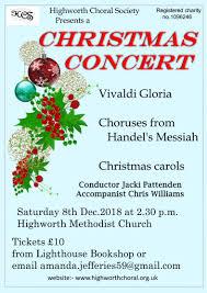 Christmas Concert Poster Christmas Concert Making Music