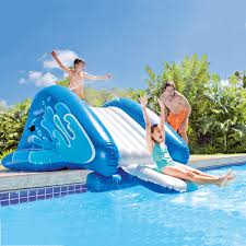 inflatable inground pool slide. Infltabale Water Slide For Inground And Above Ground Pools At InTheSwim.com Inflatable Pool L