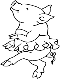 Small Picture Coloring Pages Pigs Animated Images Gifs Pictures