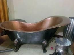 antique copper bathtub bath tub throughout designs 12