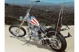 captain america easy rider bike for sale at auction