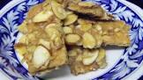 almond graham squares