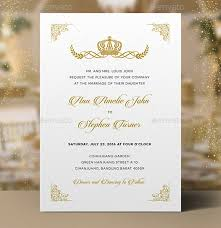 Royal Invitation Template Free 13 Royal Wedding Invitation Designs Examples In Psd