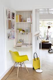 hidden desk furniture. Small Foldable Desk Hidden In A Bookcase Furniture
