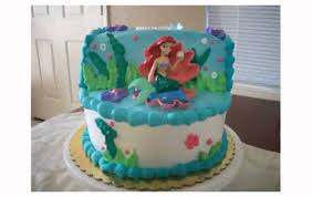Ariel Cake Decorations Little Mermaid Cake Decorations Youtube