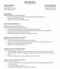 First Time Resume With No Experience Samples Impressive First Time Teacher Resume Sample College Student Resume No Work