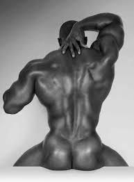 Art photos of nude black men