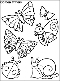 Small Picture Insects Coloring Pictures Color Zini