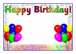 Blank Birthday Banner Birthdays Teaching Resources Printables For Primary