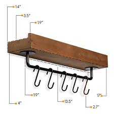rustic state smith wall mount shelf