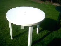 good round plastic patio table for appealing plastic round patio table chairs and tables outdoor furniture