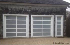 garage door with entry doorGlass and Aluminum Garage Doors Installed in Hampton NY  ArmRLite