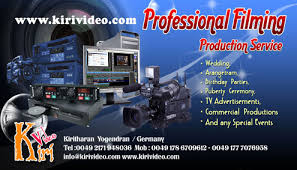 Service Advertisement We Offer Professional Filming Production Service Wedding Arangetram