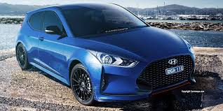 2018 hyundai veloster n. Exellent Veloster Future Cars 2018 Hyundai Veloster Keeping It Asymmetrical Will Get U0027Nu0027  Performance Model With Hyundai Veloster N Carscoops